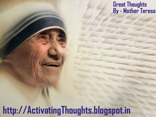 Activating Thoughts Great Thoughts And Quotes By Mother