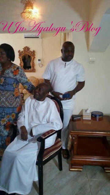 See the Sick photo of Sir Francis Arthur Nzeribe that gets everyone talking