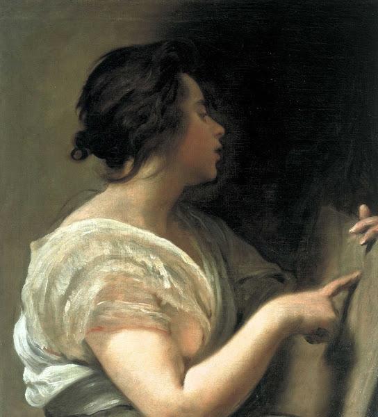 Диего Веласкес - Женщина в образе Сивиллы (ок.1648)