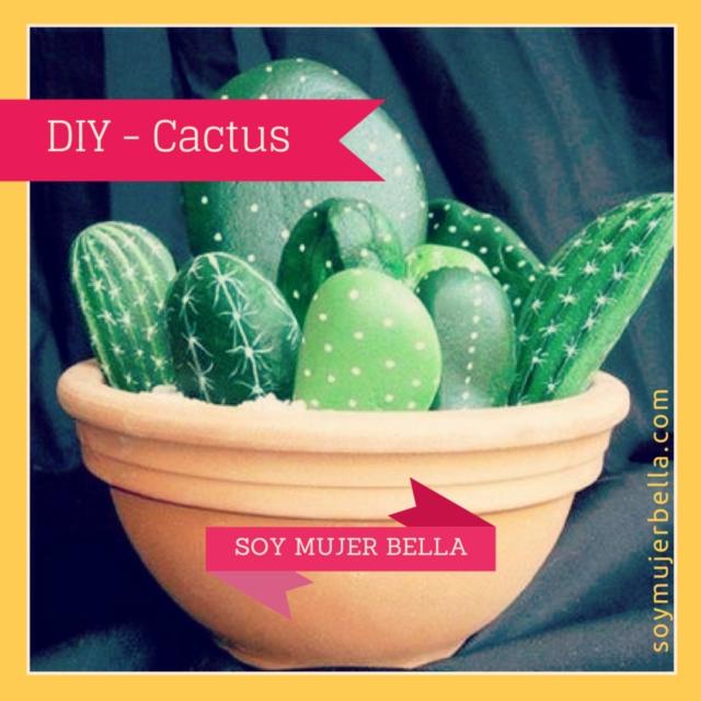 Cómo hacer pequeños cactus