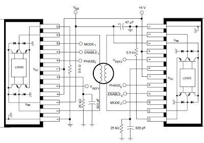 Secret Diagram: Stepper Motor Controller Using by A3952S