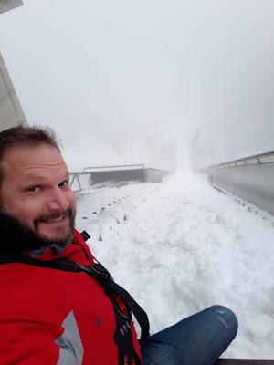 The Social Traveler at Bergisel Ski Jump