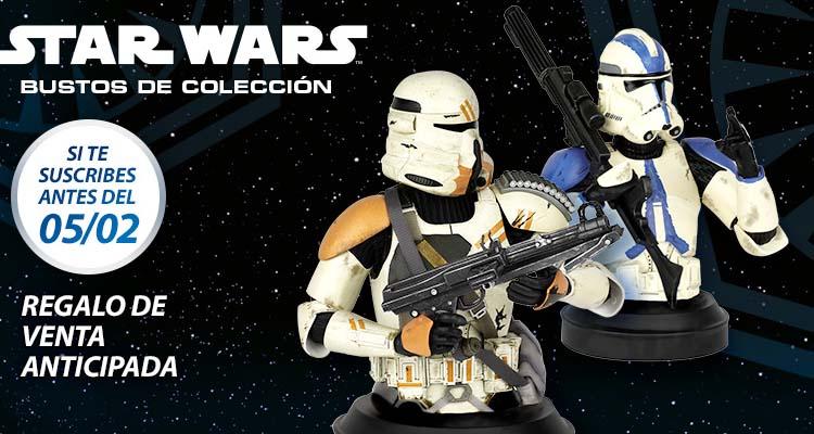 bustos Star Wrs exclusivos venta anticipada