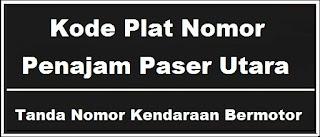 Kode Plat Nomor Kendaraan Penajam Paser Utara