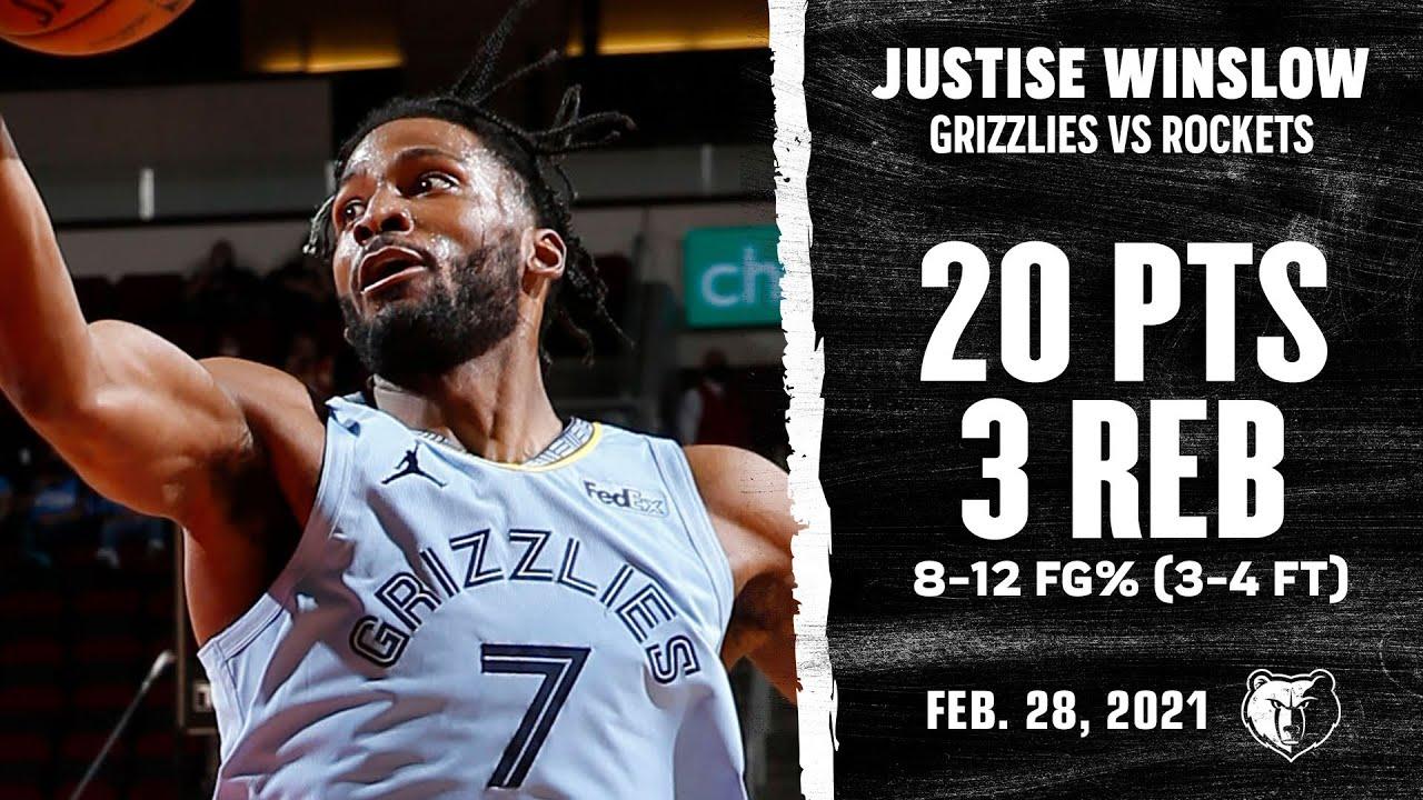 Justise Winslow 20pts vs HOU   February 28, 2021   2020-21 NBA Season