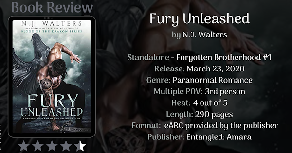 Fury Unleashed by NJ Walters