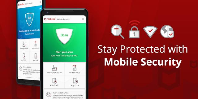 تحميل  تطبيق McAfee Mobile Security & Lock pro برنامج مكافحة الفيروسات وحماية الخصوصية