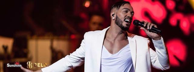Show do cantor Belo na Festa em Maratayama será domingo, às 21 horas