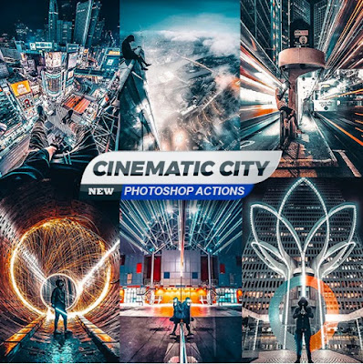 Cinematic City Photoshop Action