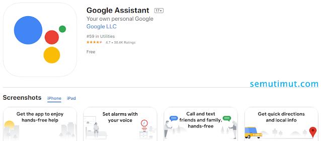 cara mengaktifkan ok google di iphone
