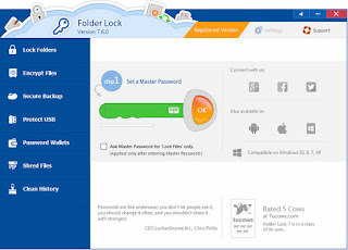 Folder Lock 7.6.3 Crack+ Serial Key FREE Download