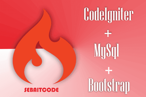 Cara Menghubungkan Codeigniter dan MySql Dengan Mudah