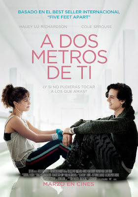A dos metros de ti en Español Latino