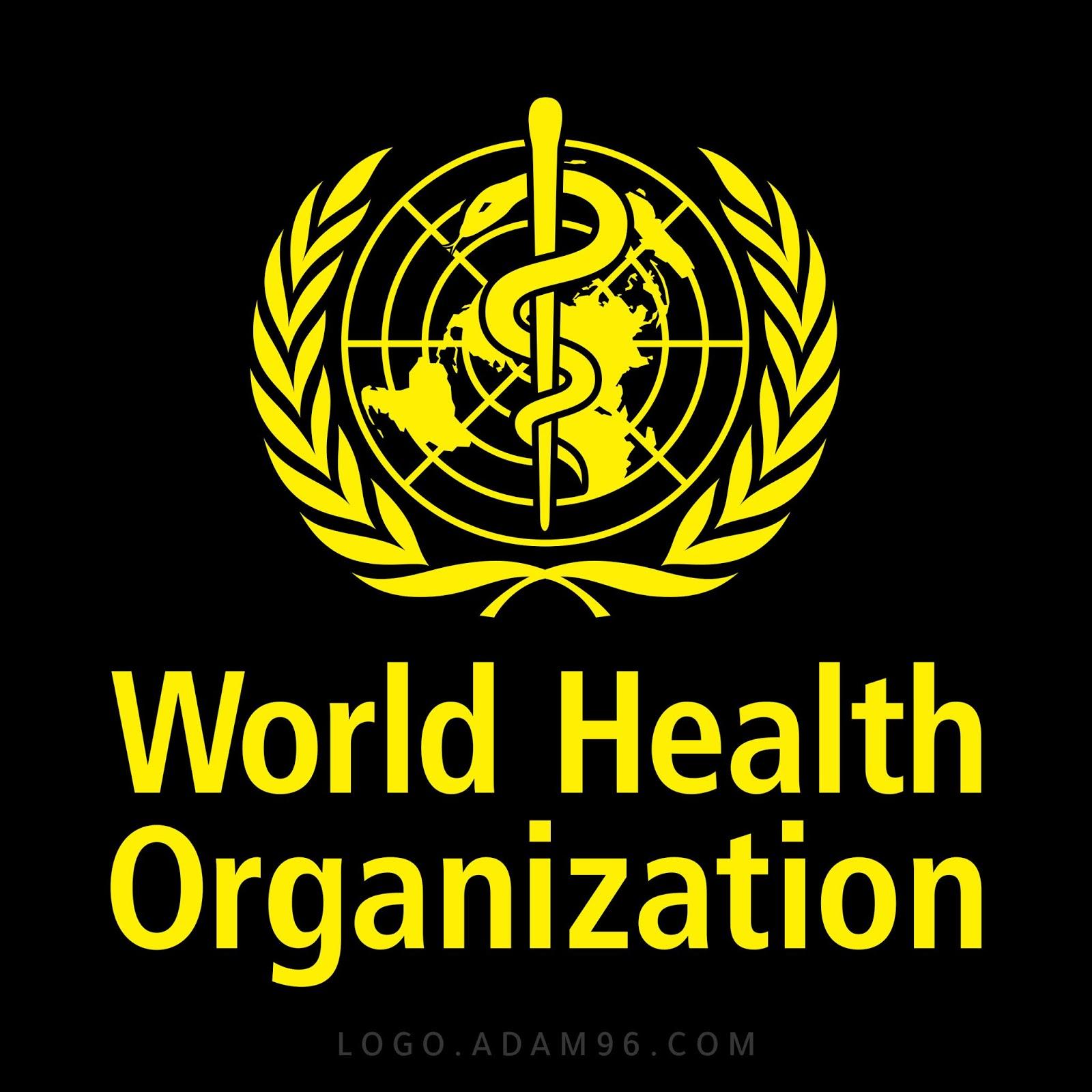 تحميل شعار منظمة الصحة العالمية بجودة عالية Logo World Health Organization Png
