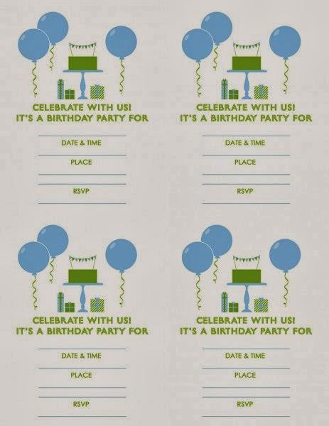 Kit para Cumpleaños de Hombres, para Imprimir Gratis. | Ideas y ...
