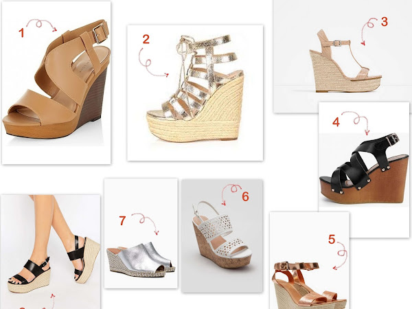 My favourite summer wedges - Wishlist