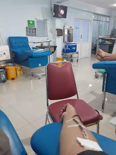 Pengalaman Pertama Donor Darah