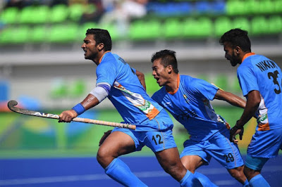 India moved into quarterfinal in the Men's Hockey in Rio Olympic