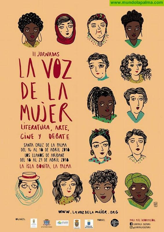 Santa Cruz de La Palma acoge a partir de este lunes jornadas culturales 'La Voz de la Mujer'