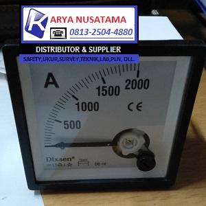 Jual Panel Analog Meter DC 0 - 3000/5 A di Jember