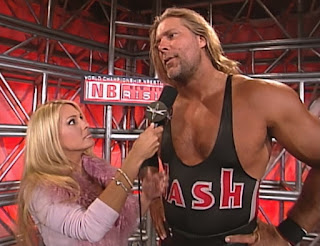 WCW New Blood Rising 2000 -  Pamela Paulshock interviews Kevin Nash