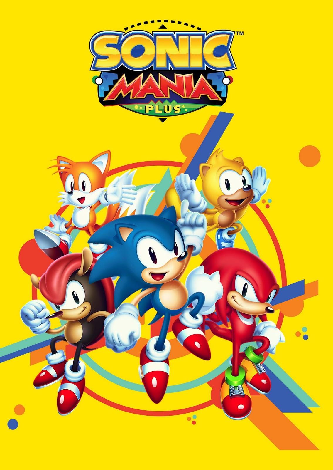 Sonic Mania Plus ya disponible