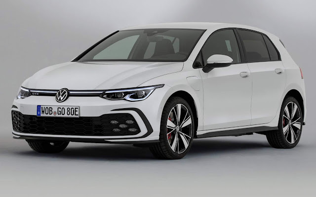 VW Golf Mk8 Plug-in Hybrid 2021