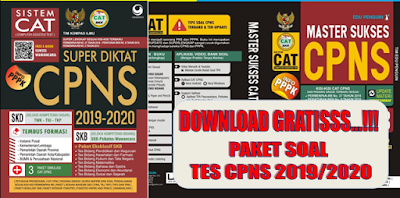 GRATIS Paket Soal Latihan Tes CPNS dan PPPK 2019 2020