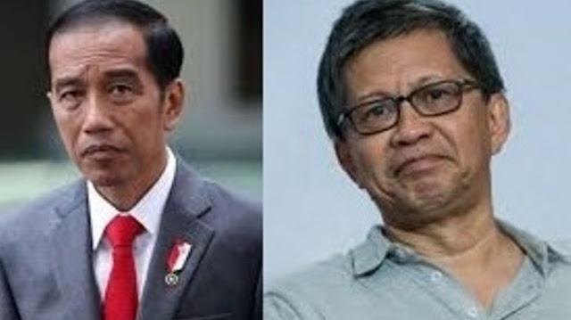 Ini Analisa Rocky Gerung Bahwa Jokowi Tak Paham Fungsi Metafor 'Winter is Coming' di IMF Bali