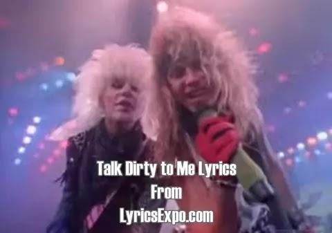Talk Dirty to Me Lyrics