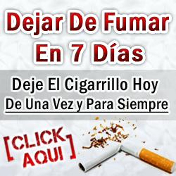 Tratamiento Natural, Dejar De Fumar En 7 Dias