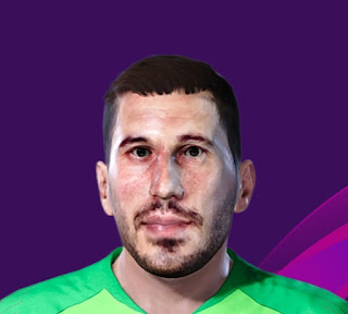 PES 2020 Faces Soslan Dzhanaev by Korneev