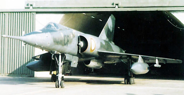 Dassault Mirage IV P with AN-22 Nuclear bomb