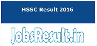 HSSC Result 2016