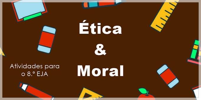 A cidadania enfocando os valores morais e éticos - Atividades de Artes para o 8.º EJA