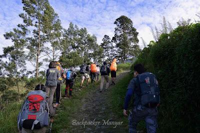 Menuju pos 1 Puncak Sejati Gunung Sumbing - Backpacker Manyar