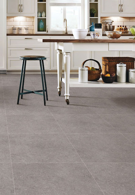 Gray Kitchen Floor Tile