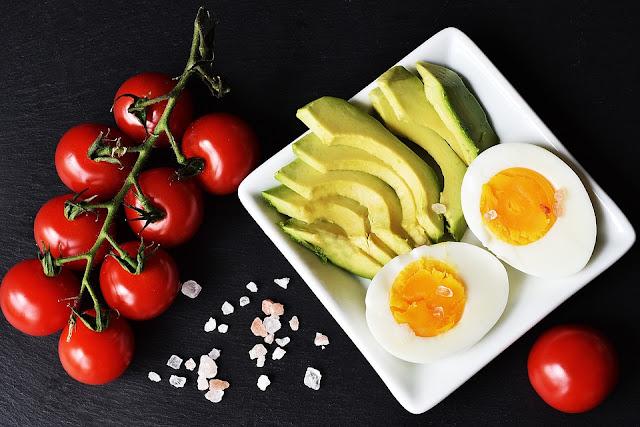 gambar makanan diet keto
