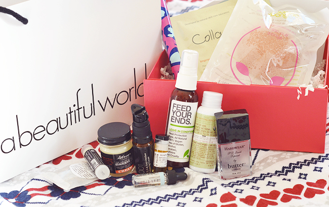 A Beautiful World Winter Beauty Box