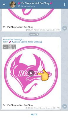 Download Drama korea indo di Telegram Drakor indo (Drama korea)