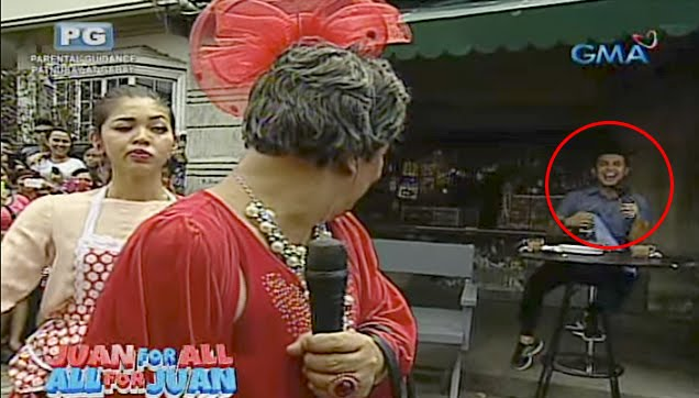 Wally Bayola as Lola Nidora in one of his famous performance