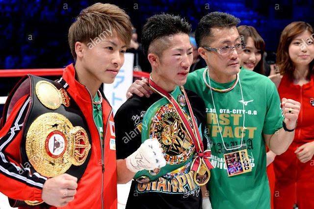 Naoya Inoue, Takoma Inoue Father Shingo Inoue