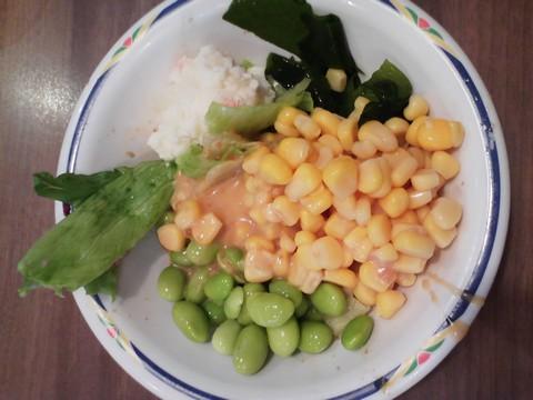 サラダ5 ステーキガスト一宮尾西店11回目