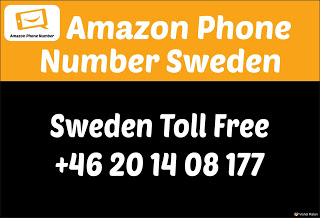 Amazon Customer Service phone Number Sweden