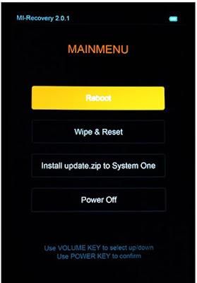 Cara Hard Reset Xiaomi Mi 5c