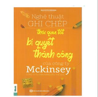SH-Nghệ Thuật Ghi Chép Thói Quen Tốt Bí Quyết Thành Công Của Công Ty Mckinsey ebook PDF-EPUB-AWZ3-PRC-MOBI