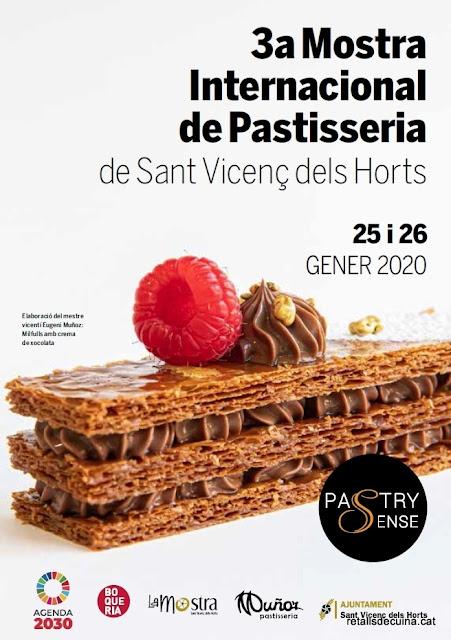 3ª Mostra Internacional de Pastisseria de Sant Vicenç dels Horts - Pastry Sense