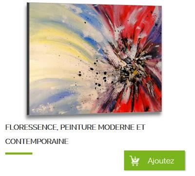 Tableau à vendre, peinture moderne
