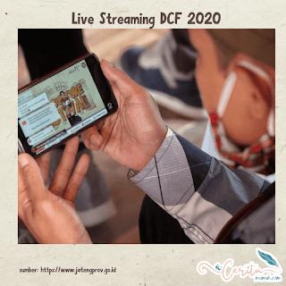 dieng culture festival 2020 diadakan live streaming