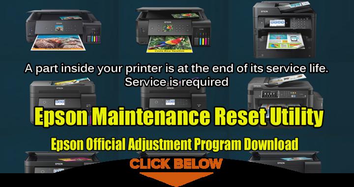 Epson Maintenance Reset Utility